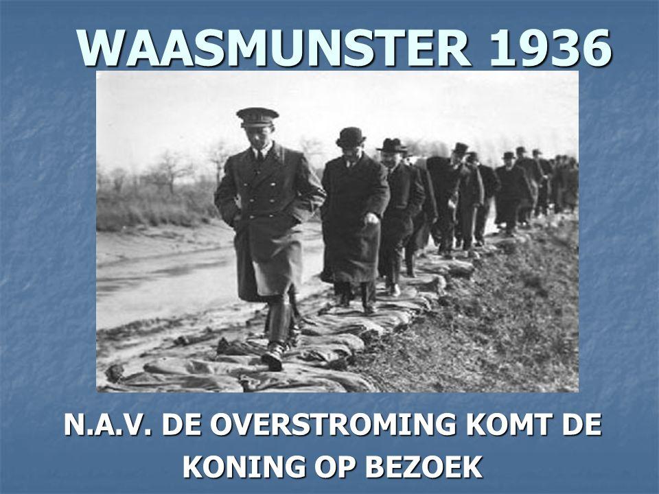 HAMME 1936 DE KONING OP TOUWFABRIEK DE KONING OP TOUWFABRIEK BEZOEK BEZOEK
