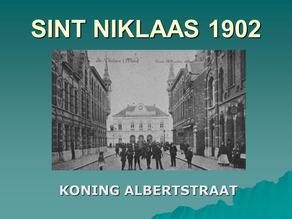SINT NIKLAAS 1900 HOUTBRIEL IN VERVLOGEN TIJDEN