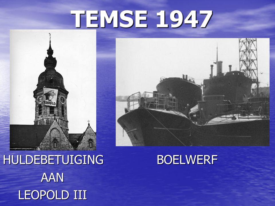 TEMSE 1947 TEMSE 1947 DE SCHELDE VOLLEDIG DICHTGEVROREN