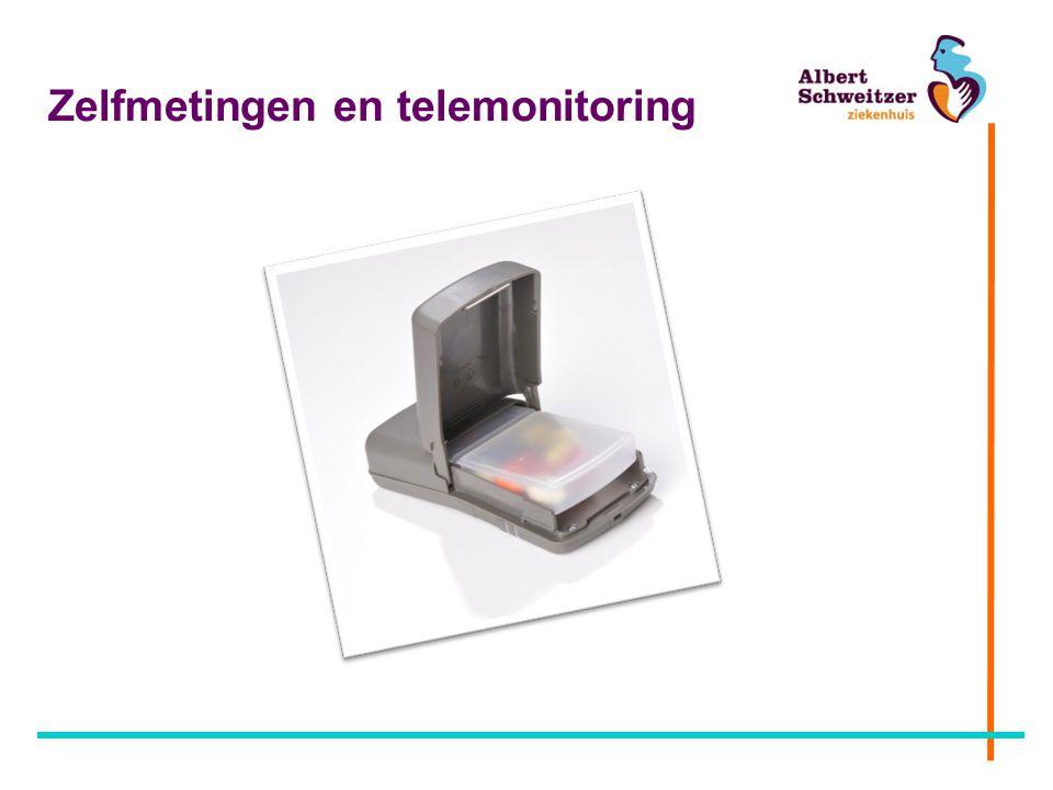 Zelfmetingen en telemonitoring