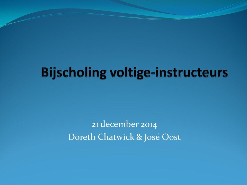 21 december 2014 Doreth Chatwick & José Oost