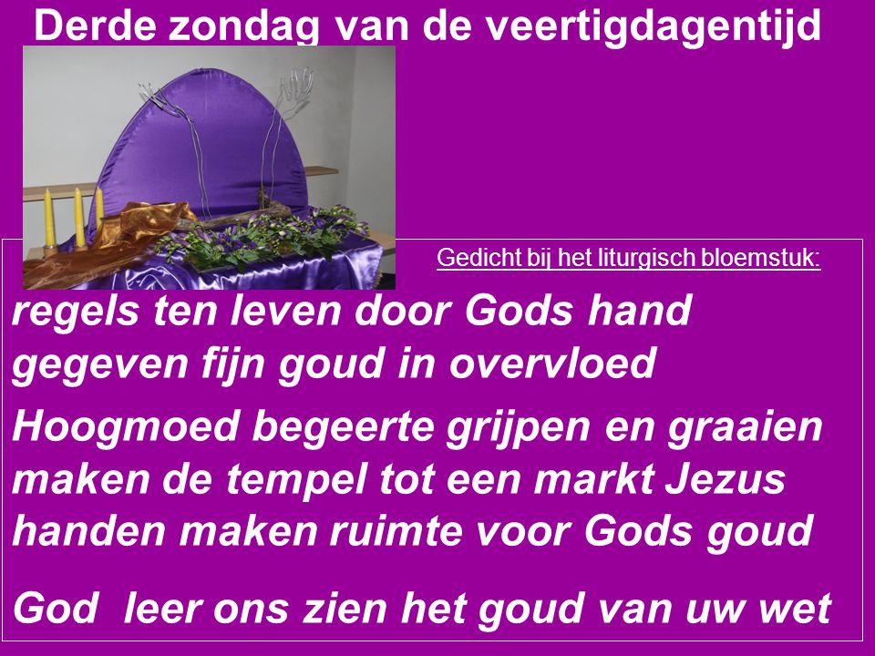 Zingen U roept ons tot de orde (tekst A.C.Bronswijk, melodie NLB990/991) 2.