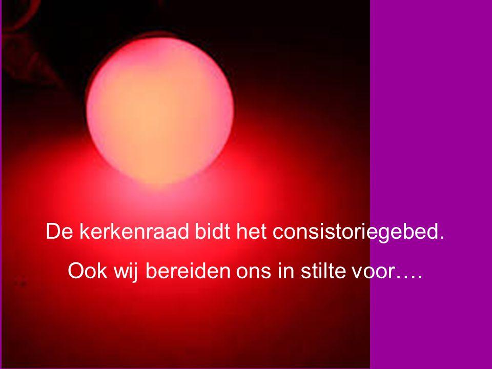 Zingen U roept ons tot de orde (tekst A.C.Bronswijk, melodie NLB990/991) 3.