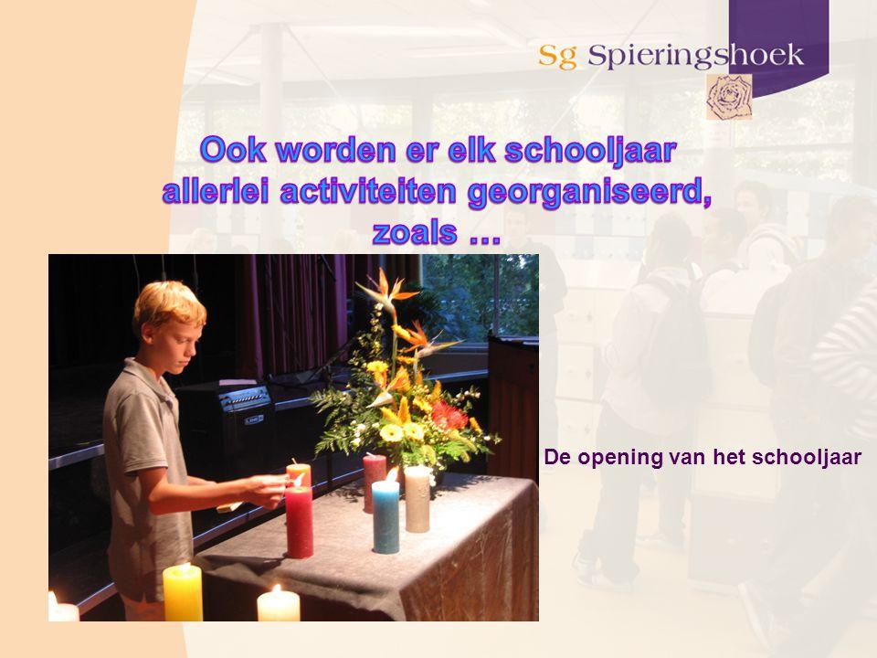 De opening van het schooljaar