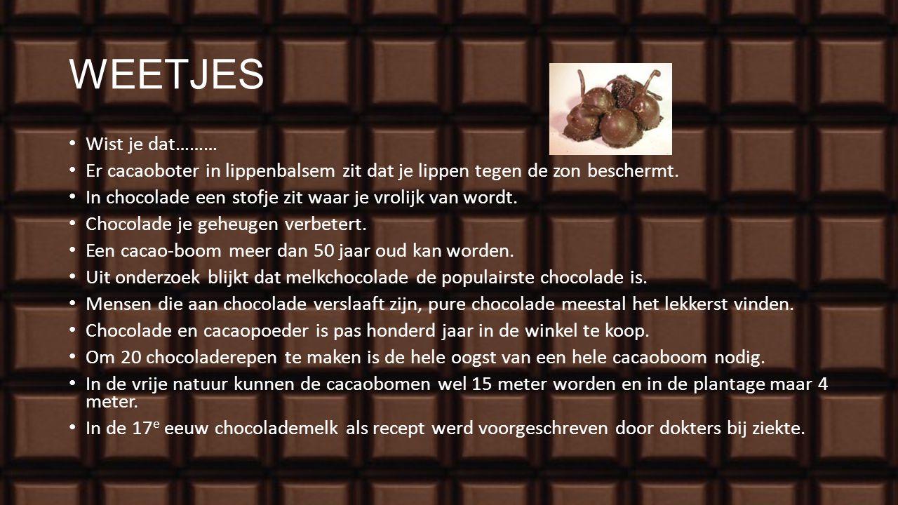 NAMAAK OF ECHT? Op het etiket mag alleen chocolade staan als dit er ook echt in zit! Anders cacao-fantasie. Bekijk de verpakkingen zelf maar eens.