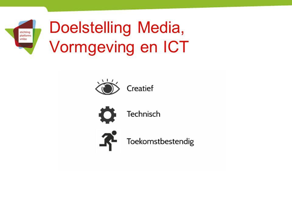 Doelstelling Media, Vormgeving en ICT