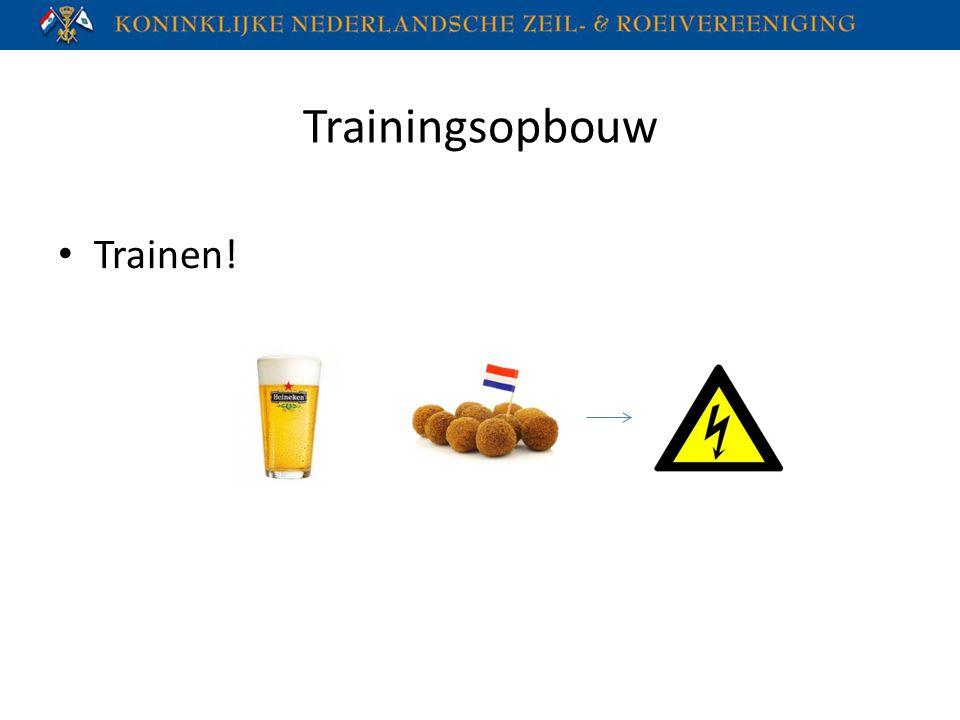 Trainingsopbouw Trainen!