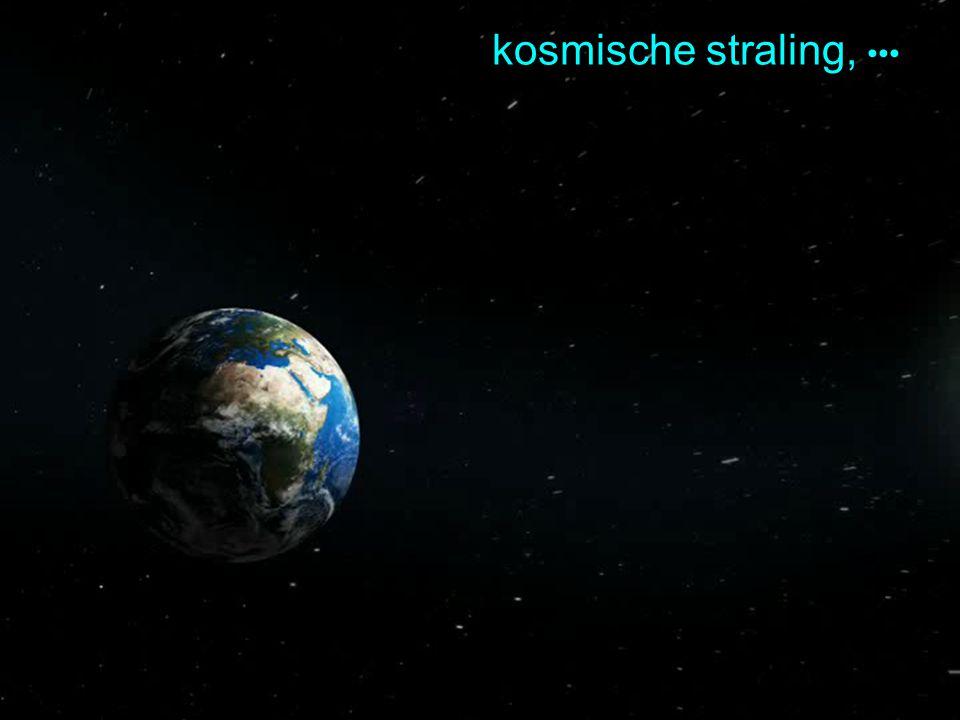 natural accelerator: kosmische straling,