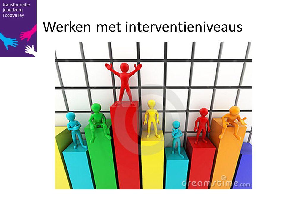 Werken met interventieniveaus