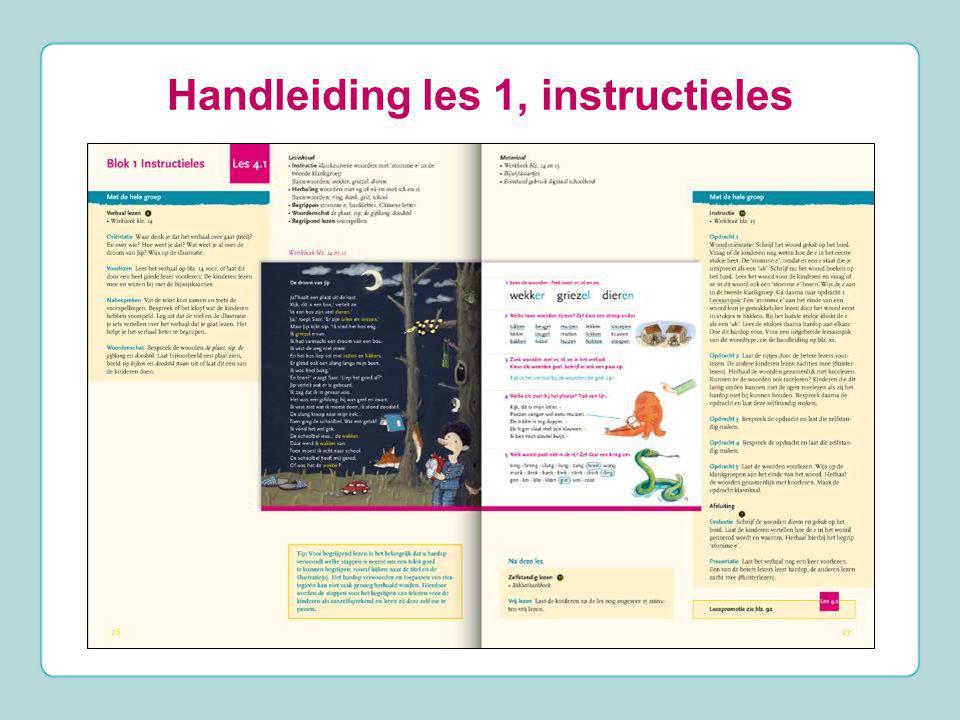 Handleiding les 1, instructieles