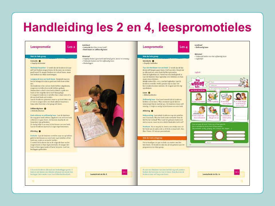 Handleiding les 2 en 4, leespromotieles