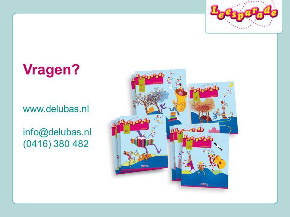 Vragen? www.delubas.nl info@delubas.nl (0416) 380 482