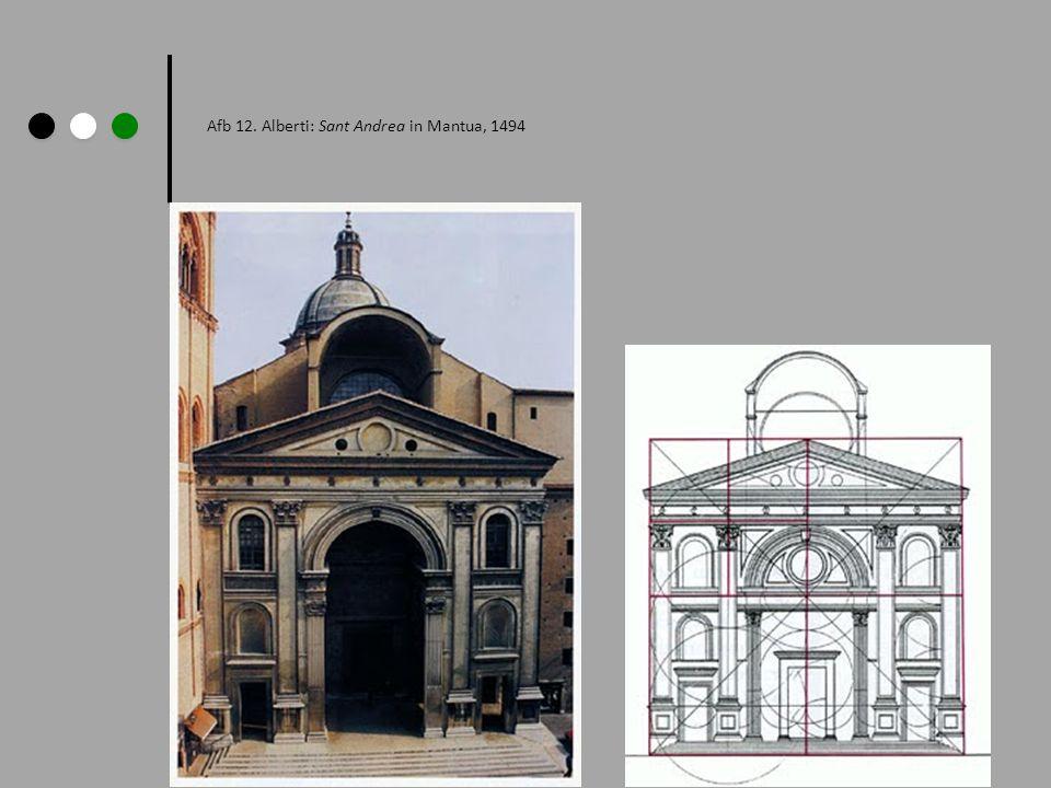 Afb 12. Alberti: Sant Andrea in Mantua, 1494