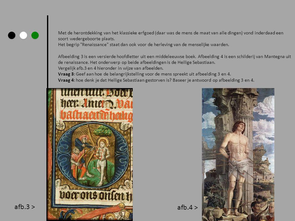Met de herontdekking van het klassieke erfgoed (daar was de mens de maat van alle dingen) vond inderdaad een soort wedergeboorte plaats.