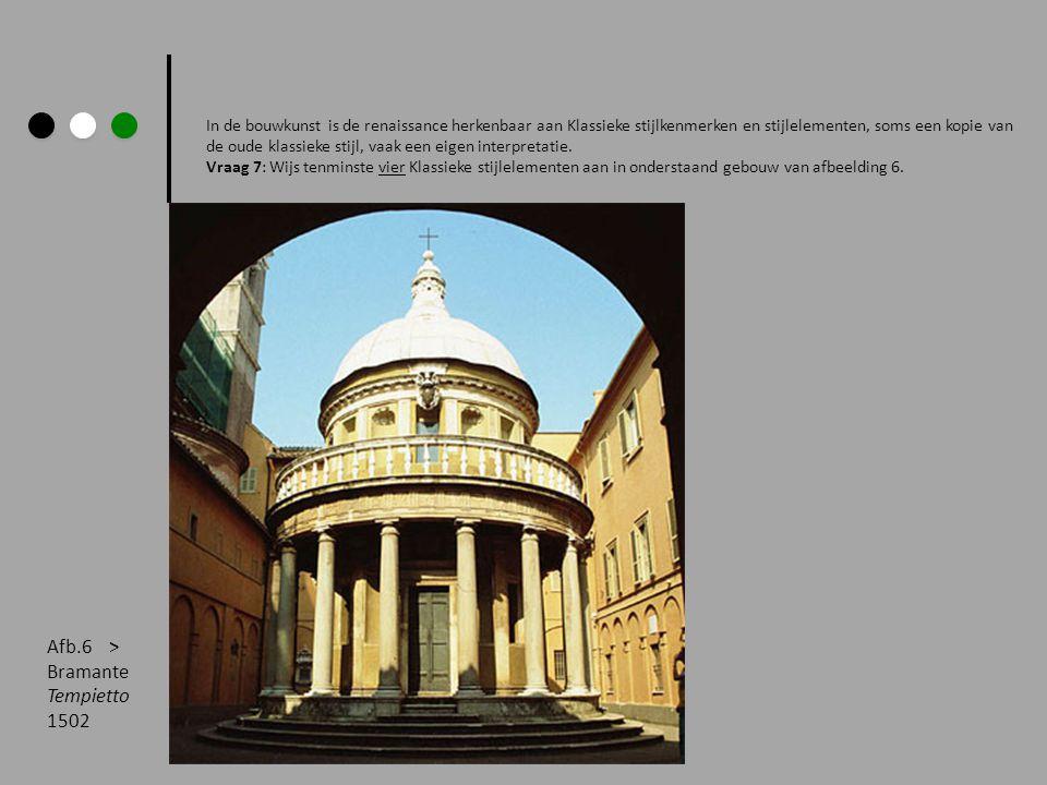 In de bouwkunst is de renaissance herkenbaar aan Klassieke stijlkenmerken en stijlelementen, soms een kopie van de oude klassieke stijl, vaak een eigen interpretatie.