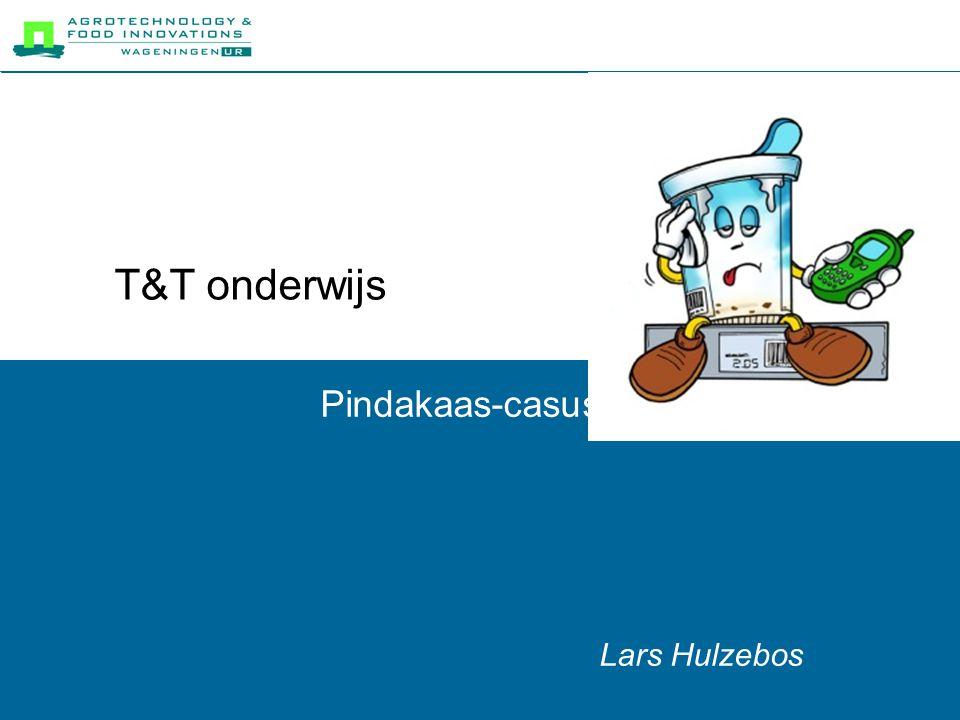 T&T onderwijs Pindakaas-casus Lars Hulzebos