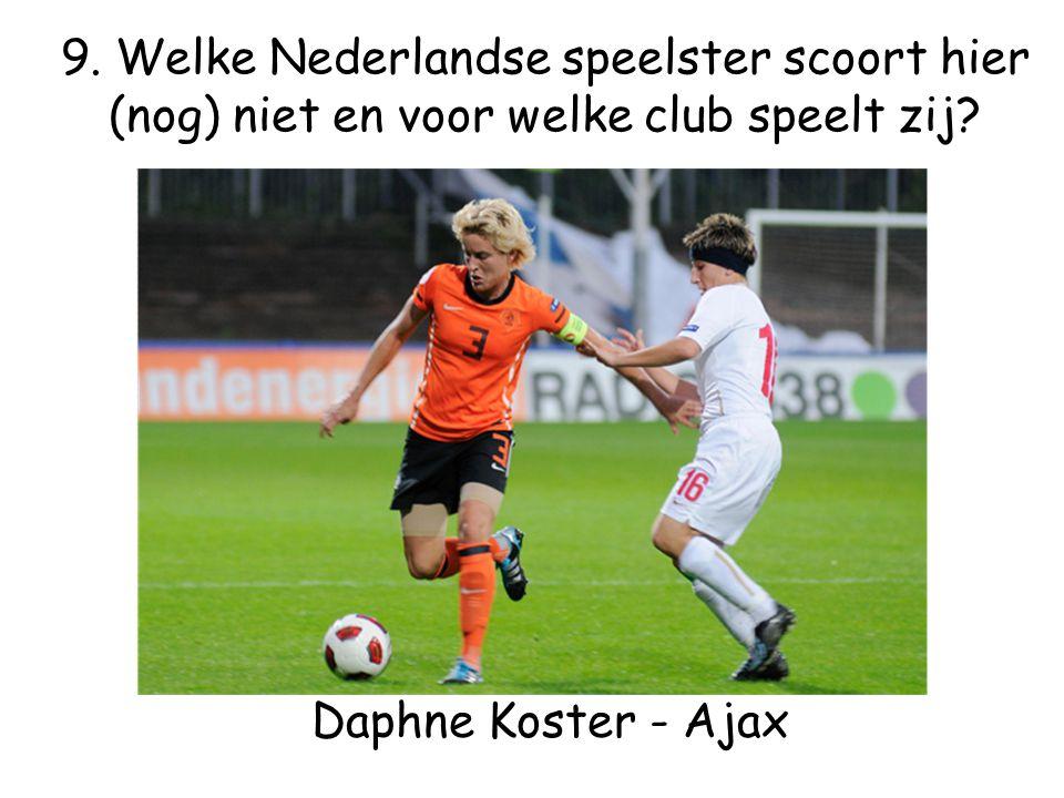 Daphne Koster - Ajax 9.