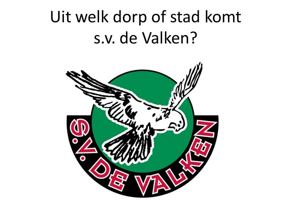 Uit welk dorp of stad komt s.v. de Valken?
