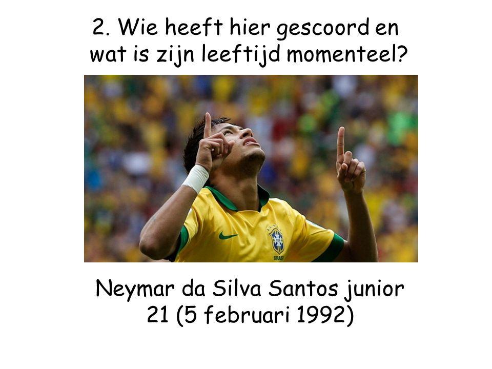 Neymar da Silva Santos junior 21 (5 februari 1992)