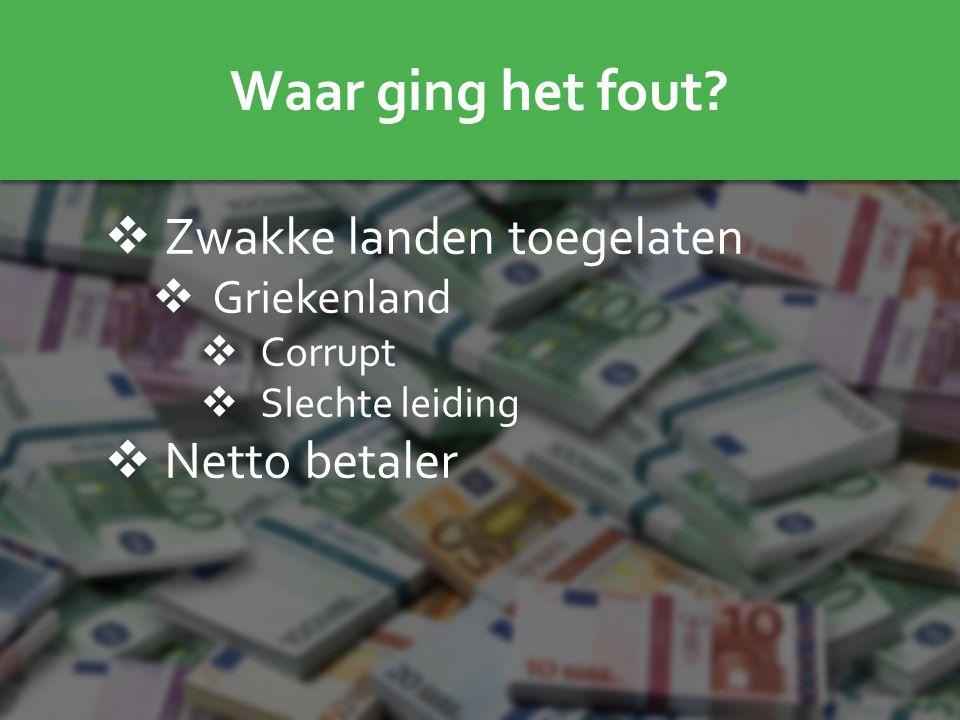 Waarom Nederland uit de EU moet stappen  Bijdrage begroting EU  Regels