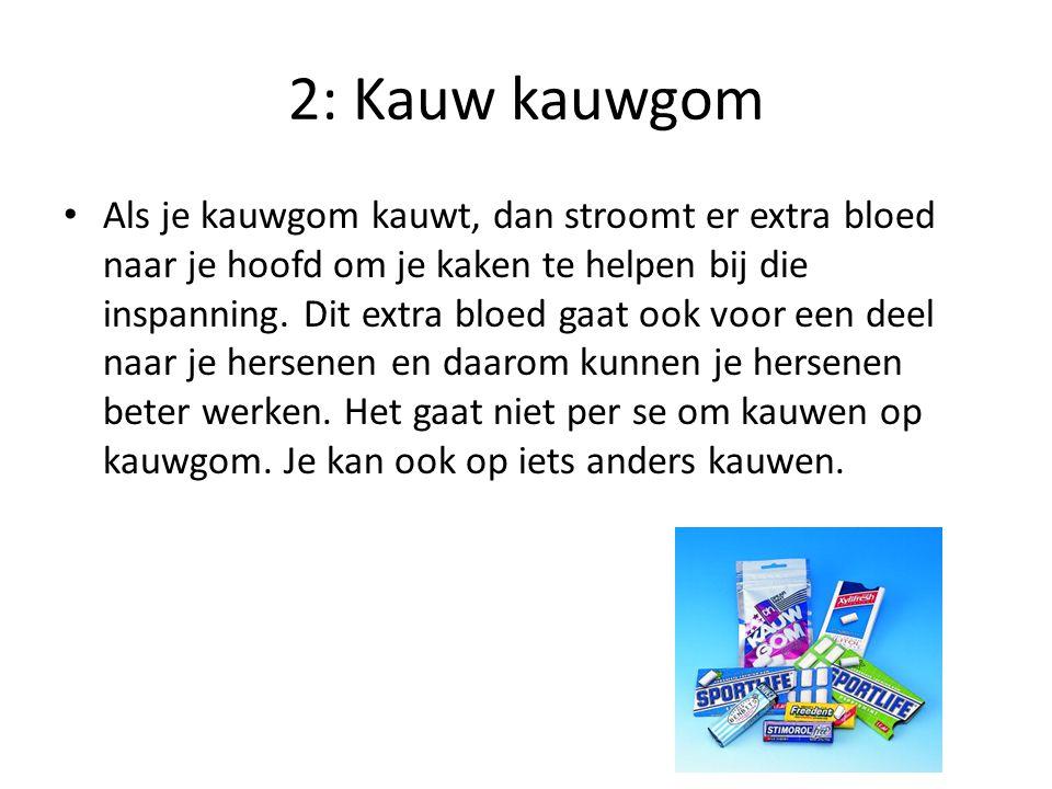 3: Eet bosbessen In bosbessen zitten flavonoïden.
