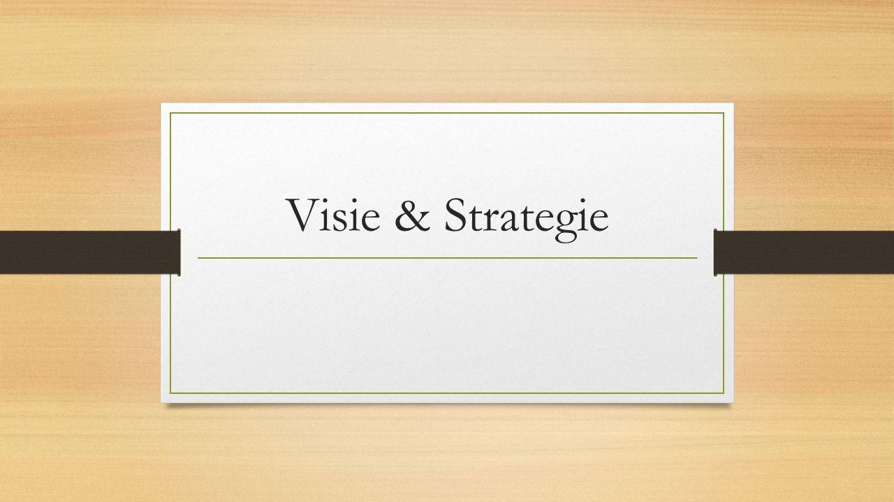 Agenda Les 1: Visie en doelstellingen Les 2: Visie Les 3: Missie Les 4: Strategie Les 5: Herhalen Les 6: Toets