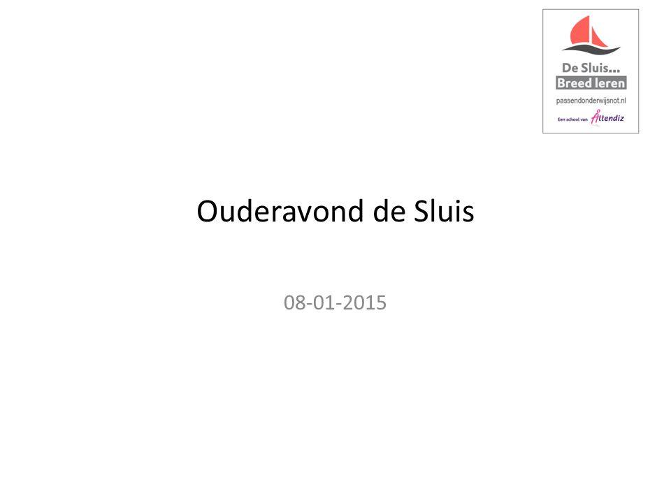 Ouderavond de Sluis 08-01-2015