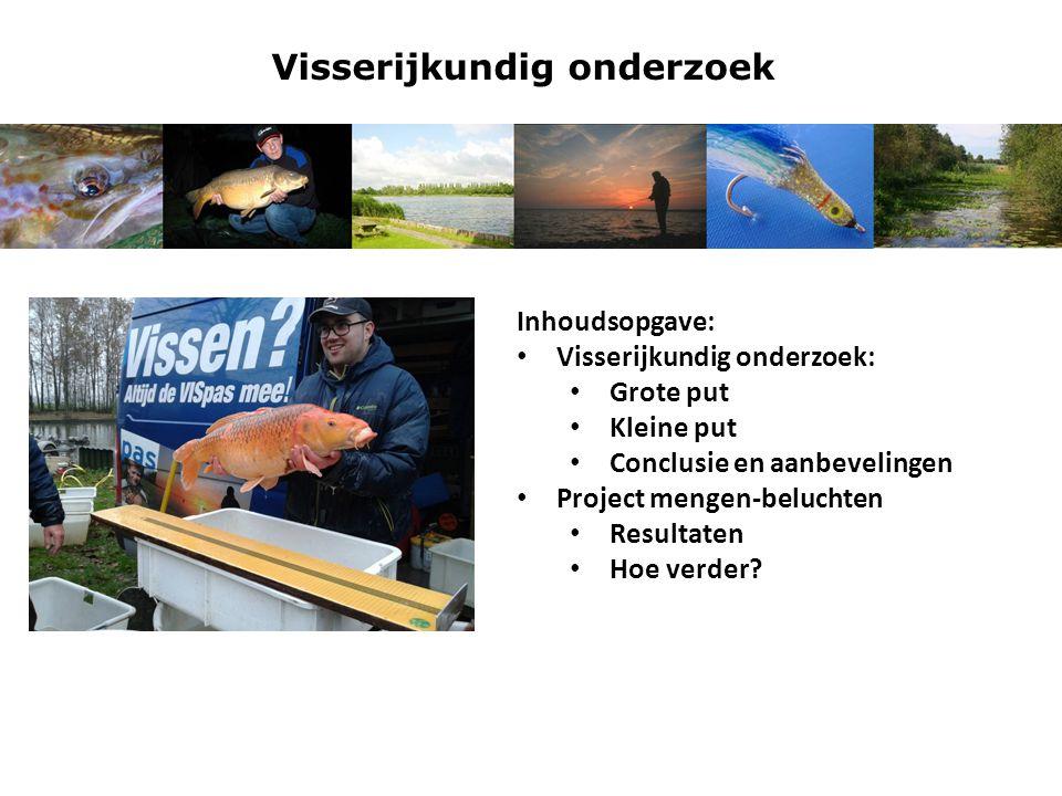 Visserijkundig onderzoek Grote put Visstandgegevens