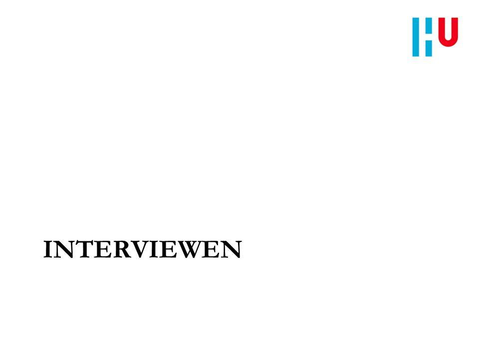 INTERVIEWEN