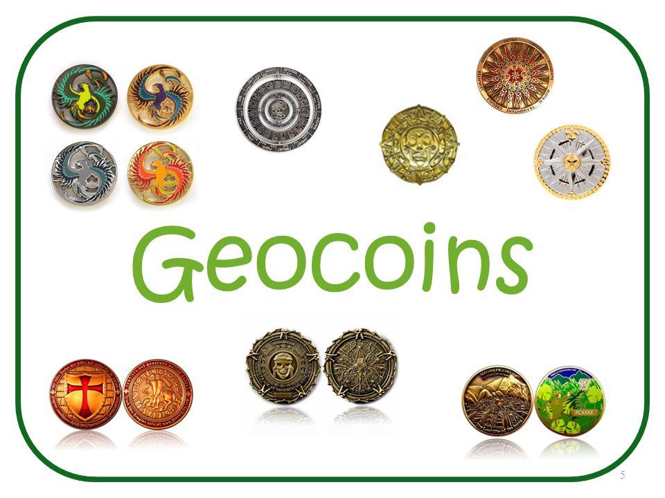 5 Geocoins