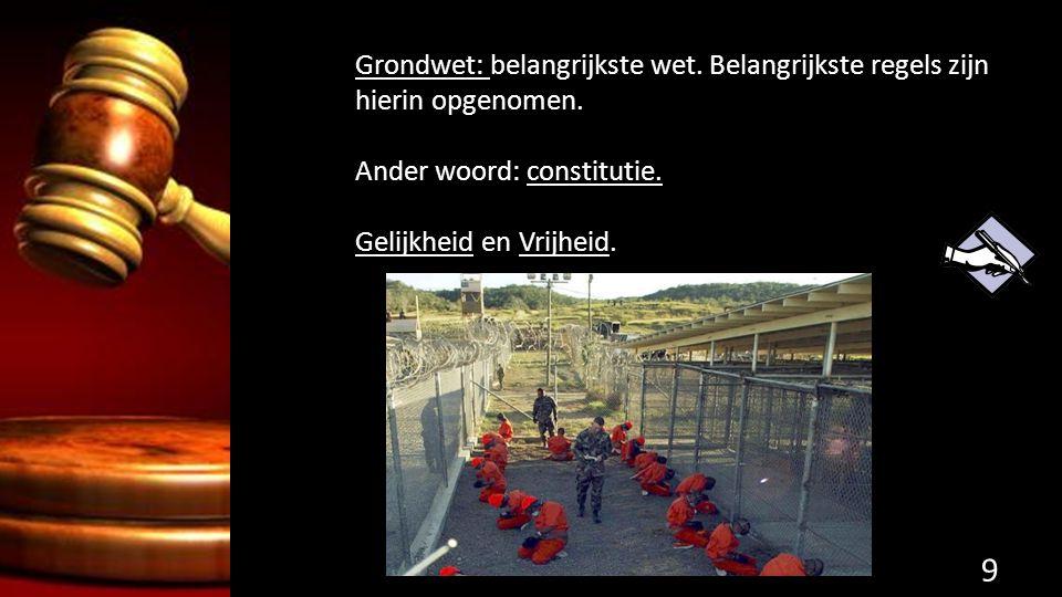 Vier soorten straffen: 1.Vrijheidsstraf: Gevangenis (hechtenis) 2.Taakstraf: werk of leerstraf: verplichte alcoholcursus.