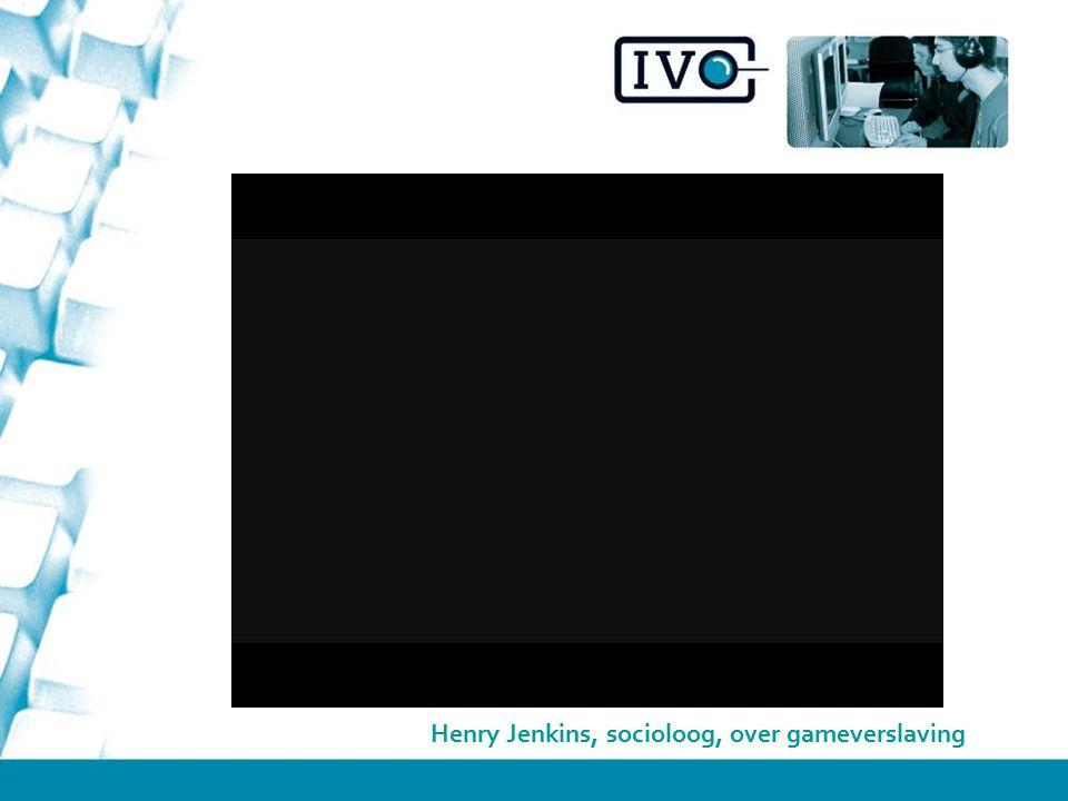Henry Jenkins, socioloog, over gameverslaving
