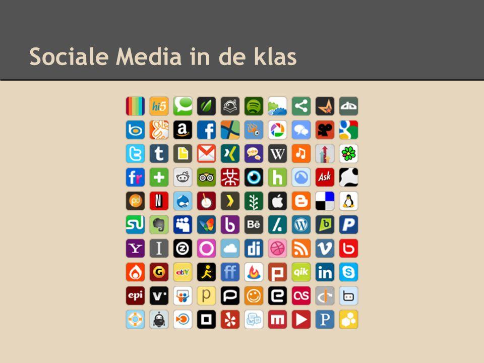 Sociale Media in de klas