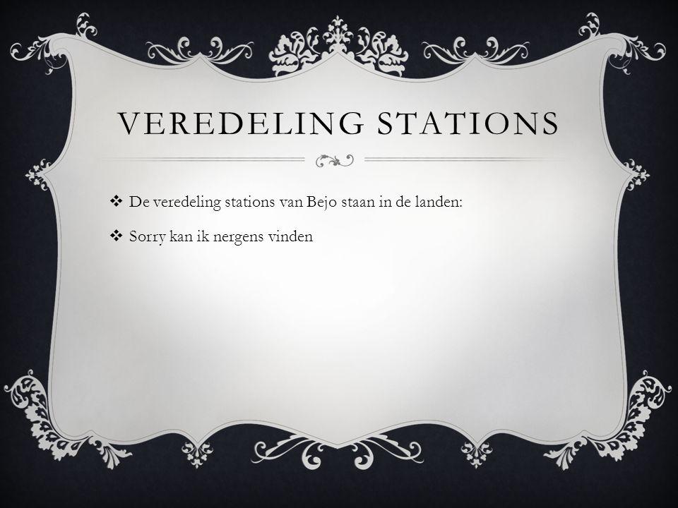 VEREDELING STATIONS  De veredeling stations van Bejo staan in de landen:  Sorry kan ik nergens vinden