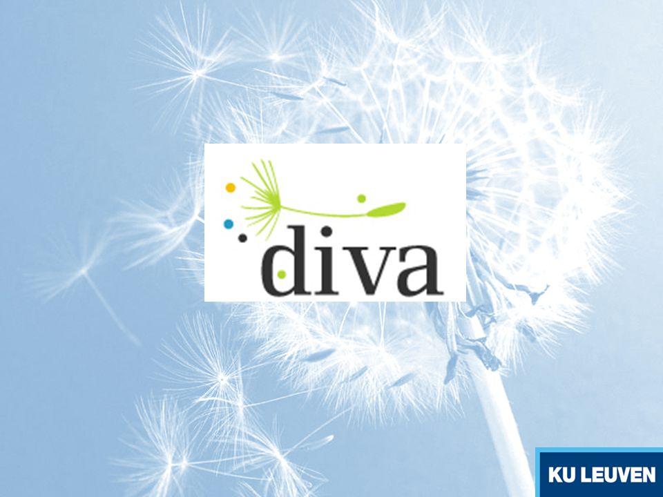 INHOUD 1.Het Diva project 2.Definities 3.Criteria voor succesvolle disseminatie 4.Disseminatietechnieken 5.Criteria voor succesvolle exploitatie 6.Trajecten voor duurzaamheid (sustainability) 7.