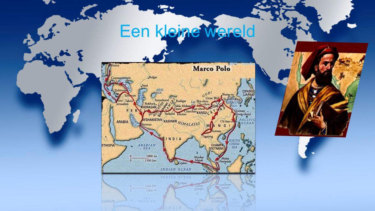 Venetië Geboorte stad van Marco Polo Lastdieren met specerijen Grote tochten: Ontdekkingsreizen