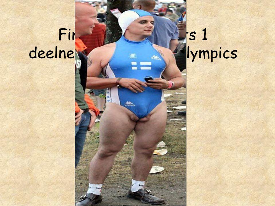 Finland met slechts 1 deelnemer op de gay olympics