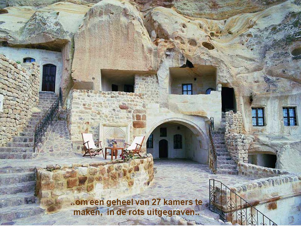 Meer dan 1000 jaar daarna, werd deze labyrint van doorgangen gebruikt….