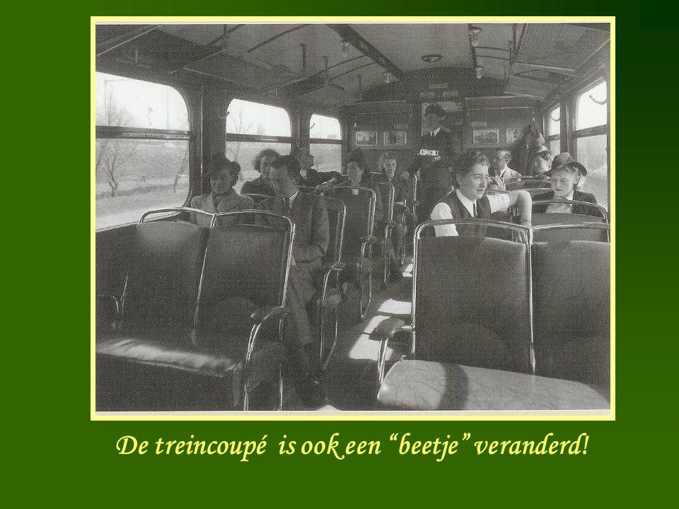 """De treincoupé is ook een """"beetje"""" veranderd!"""