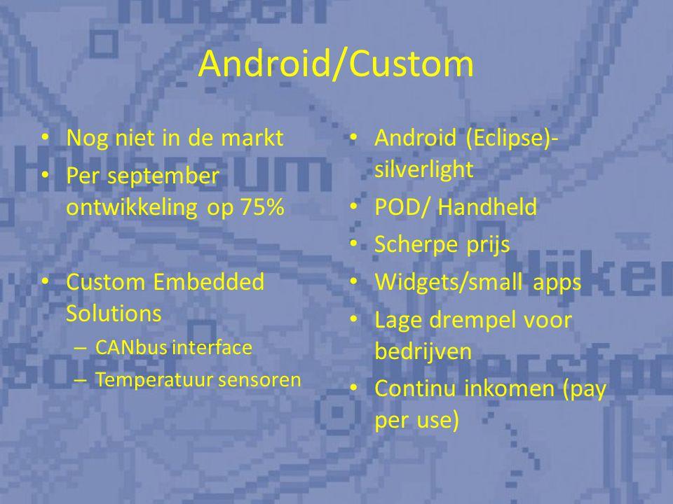 Prognose verkopen Boordcomputer: – 5 units ter vervanging (€ 10.000,-) – onderhoud (€ 18.000,-) Prognose trailer modem verkopen 2011: