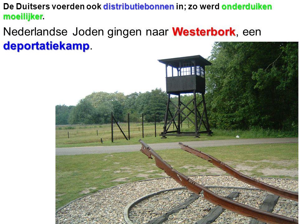 Westerbork deportatiekamp Nederlandse Joden gingen naar Westerbork, een deportatiekamp.