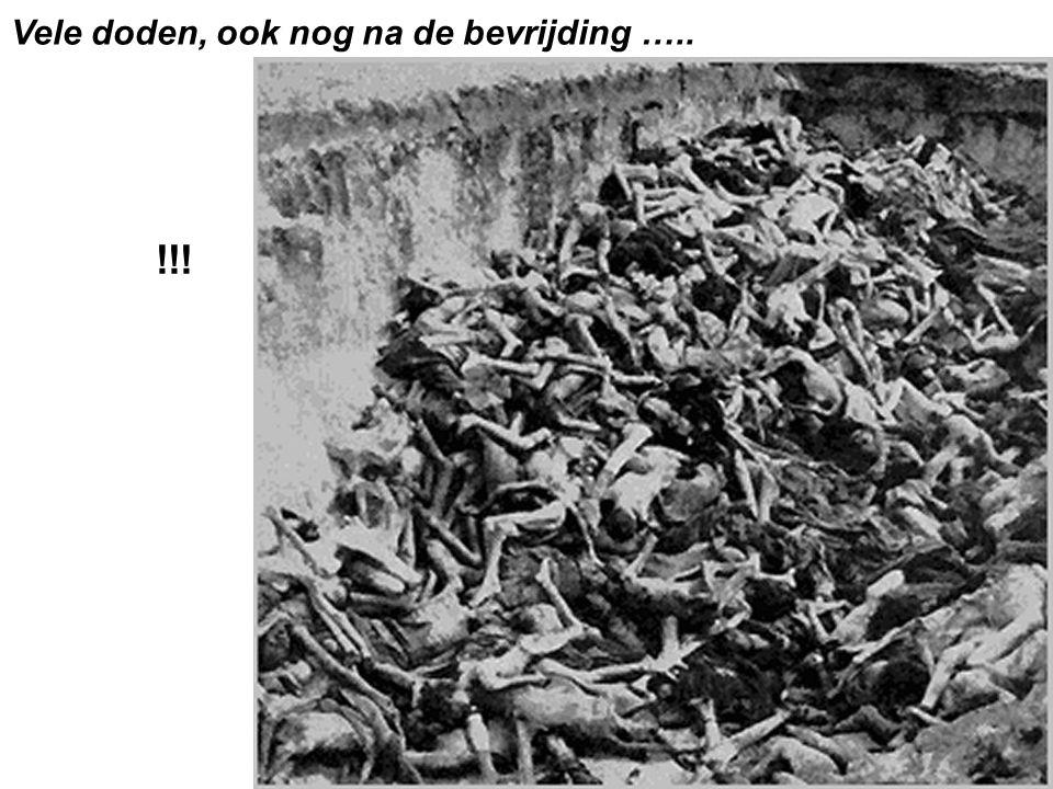 Vele doden, ook nog na de bevrijding ….. !!!