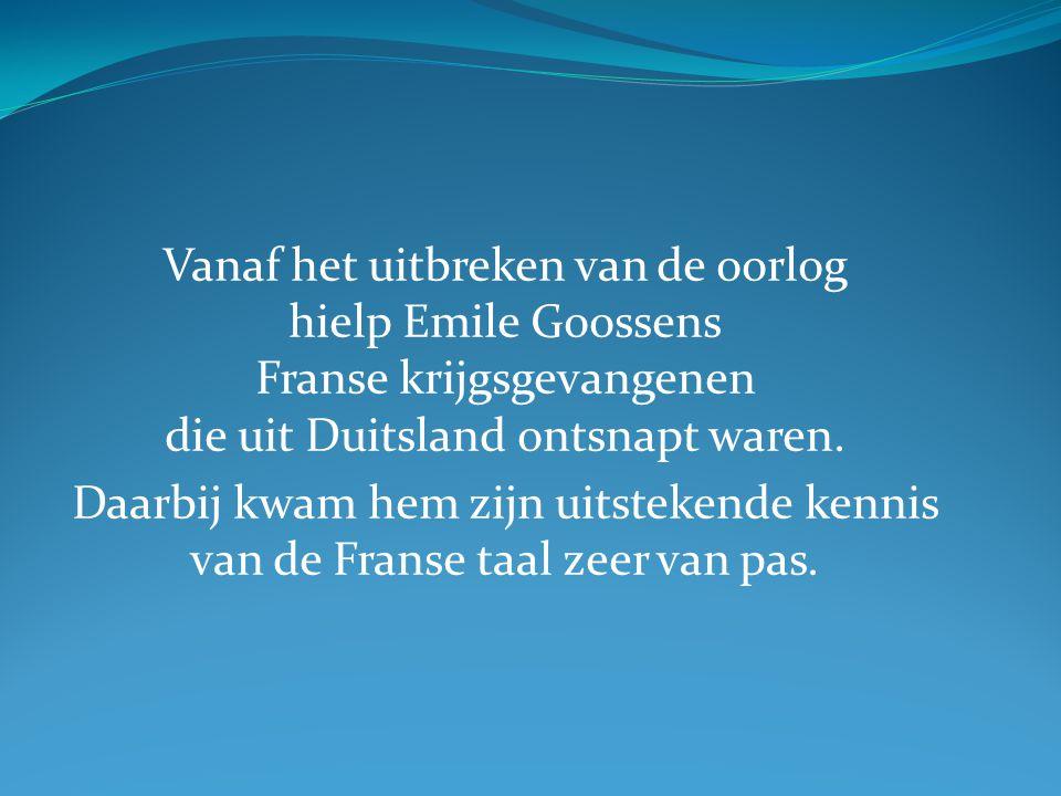 Als u in die tijd een krijgsgevangene was die naar het bezette Nederland vluchtte en die a) niemand zo maar kon vertrouwen b) en de Nederlandse taal niet kende Waar zou u zich verstoppen?