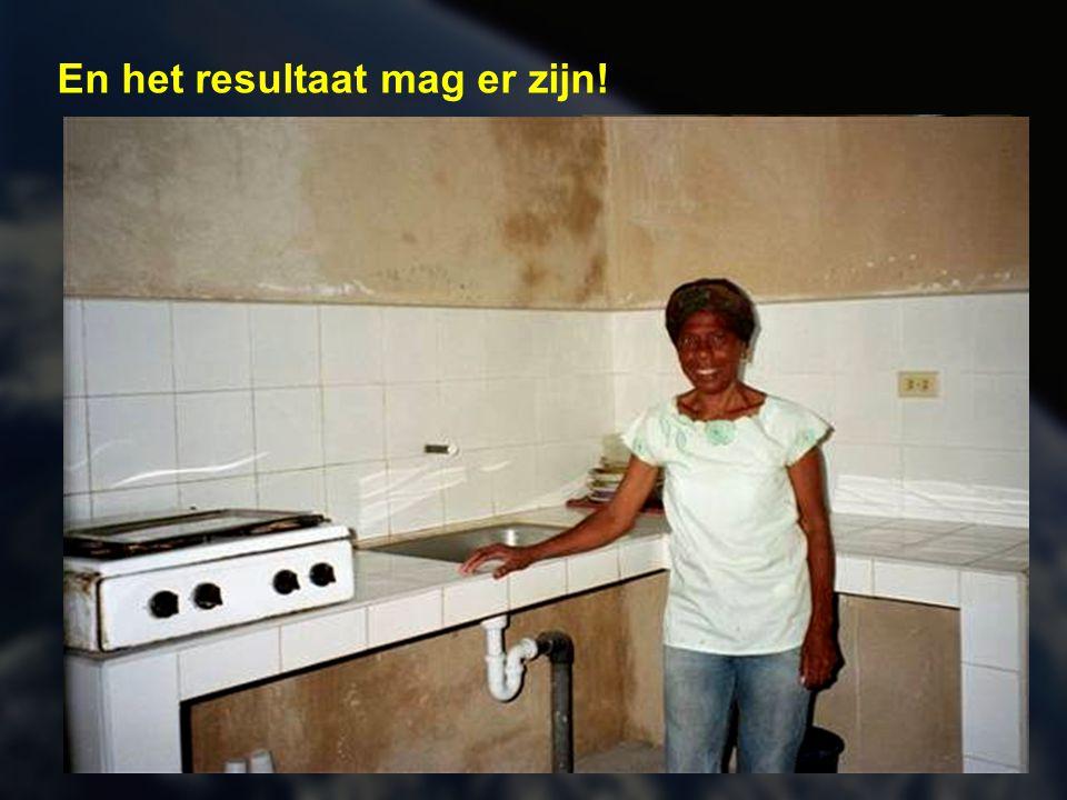 Naast vochtproblemen en elektriciteitsvoorziening worden prioritair ook het sanitair en de keuken onder handen genomen.