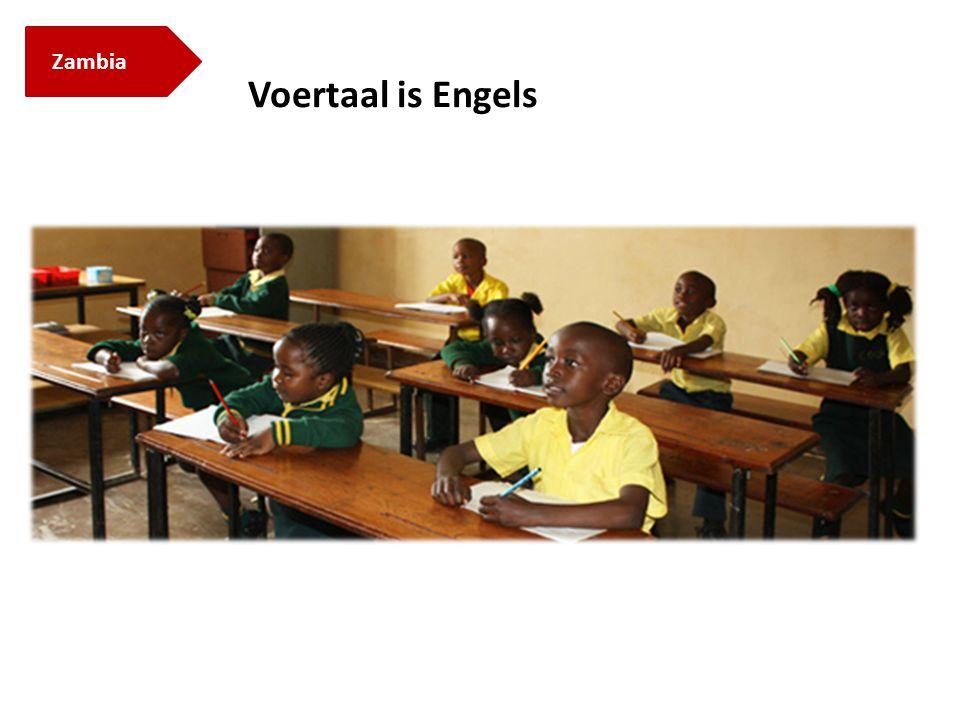 Zambia Voertaal is Engels