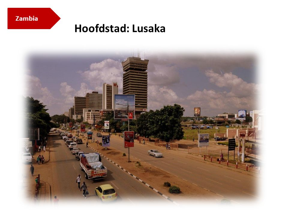 Hoofdstad: Lusaka