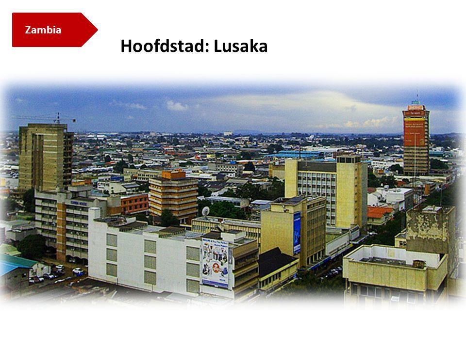 Zambia Hoofdstad: Lusaka