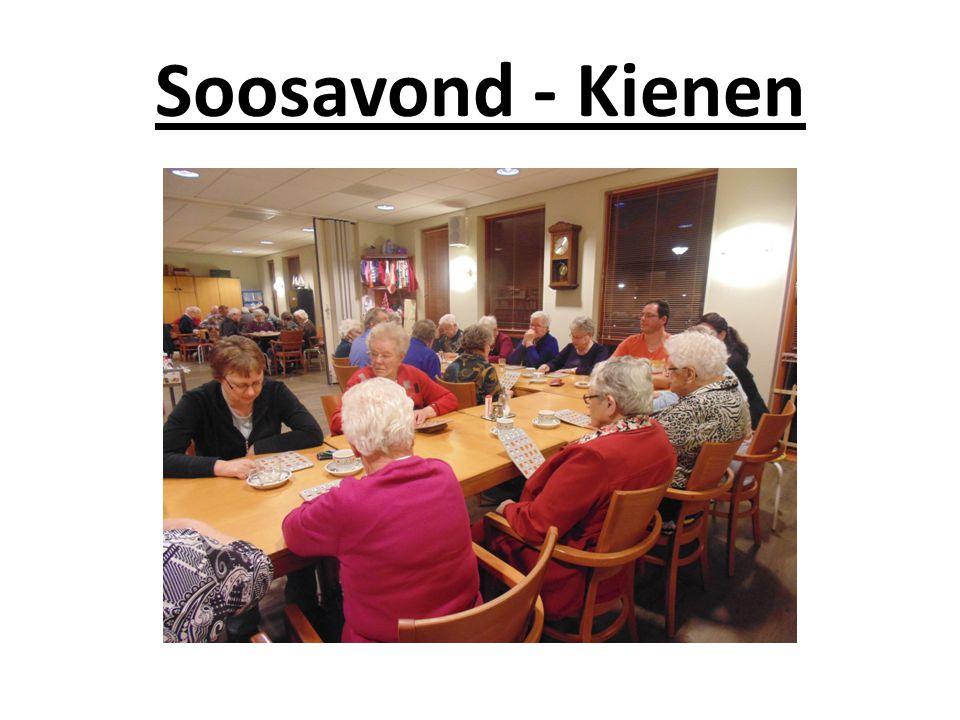 Soosavond - Kienen