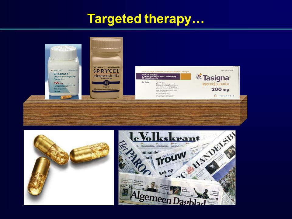 Targeted therapy…