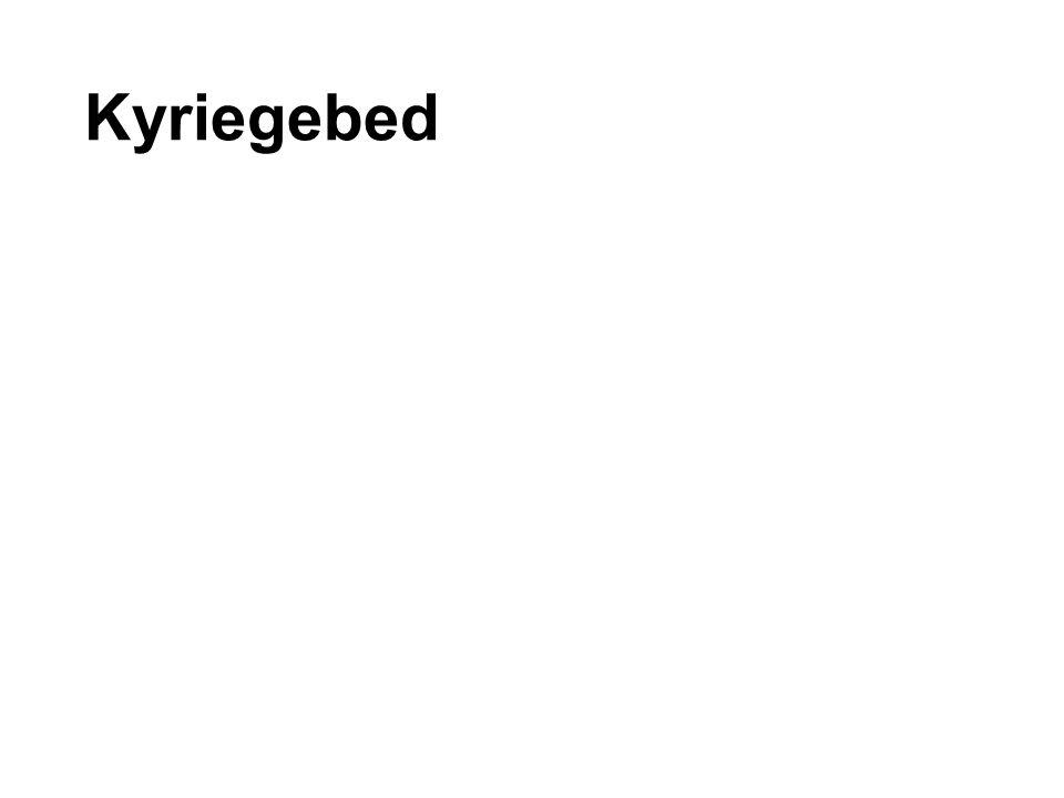 Kyriegebed
